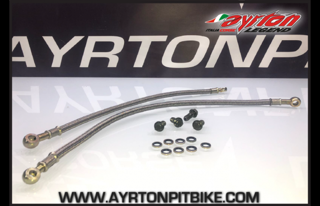 High Quality Pitbike Crimped Oil Cooler Pipes Approved For European Races